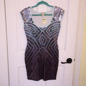 Final⚠️ Sequin Art Deco Dress